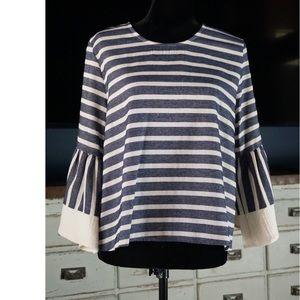 Anthropologie Mariana Striped Shirt